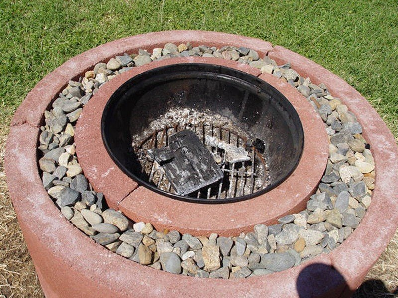 Fire Pit Ring : Best diy fire pit projects ideas